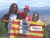 """Montañas de Aragón: Chobentú-Jóvenes de CHA asciende a Peña Oroel dentro de la iniciativa """"Cumbres vivas"""""""