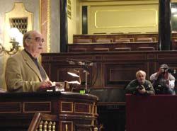 El problema de la renovación de la línea del Canfranc?, en el Congreso de los Diputados