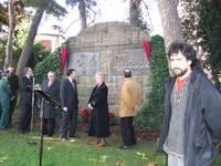 El Monumento a la Paz sustituye al de los Caídos en Jaca a propuesta de CHA