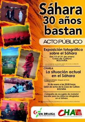 Pirineo solidario, Sobrarbe con el Sáhara
