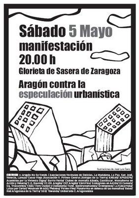 Semana de manifestación en Zaragoza, por el Pirineo , por su dignidad, por su futuro